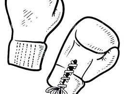 Boxing Gloves Coloring Pages Boxing Gloves Coloring Pages Boxing