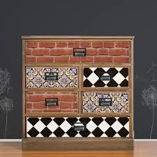 bricks furniture. FW5902 - Málaga Style Tiles And Bricks Furniture Wrap With Dandelion Background Stickers. \u2039 \u203a T