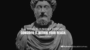 Marcus Aurelius Quotes Awesome Marcus Aurelius' Quote About Reaching Your Goals