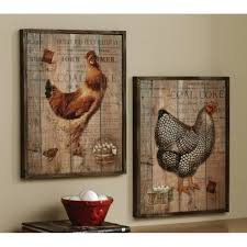Decorative Chickens For Kitchen Kitchen Kitchen Decor Ideas For Wall Simple Chickens Country