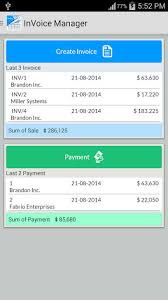 Simple Invoice Manager For Android - Free Download