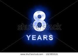 「8 years」の画像検索結果