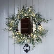 indoor christmas lighting. christmas wreaths u0026 garlands indoor lighting