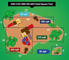 Mulch Calculator Chart Rubber Mulch Coverage Calculator How Much Rubber Mulch Do