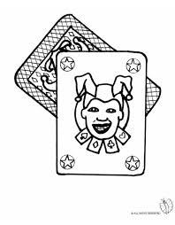Disegno Da Colorare Carte Da Gioco Uno