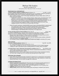 Good Resume Model Mechanical Technician Resume Sample