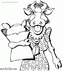 Cow coloring free animal pages sheets cow 2 coloring page free pages coloringpages101 com terrific cow coloring pages 89 in for kids with wonderful cow coloring page 60 with additional pages for. Cow Coloring Page 06 Free Print And Color Online