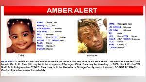 Florida girl found safe after Amber Alert