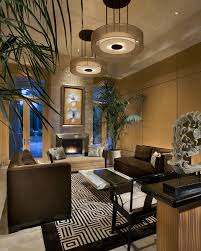 asian living room furniture. Modern Oriental Asian Living Room Features Luxe Brown Velvet Sofas (Image 8 Of 20) Furniture R