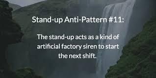 Anti Pattern Custom 48 Standup AntiPatterns Threatening Your Transition To Scrum