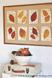 diy leaves wall decor inexpensive fall wall d on when autumn leaves start to wall