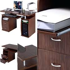 hide away furniture. Home Office Hideaway. Mesmerizing Walnut Computer Desk Work Station Monitor Printer Shelf Hideaway Hide Away Furniture U