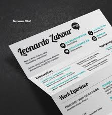 Design Resume Fonts Professional Resume Templates