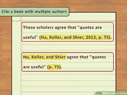 easy ways to cite a quote pictures wikihow image titled cite a quote step 3