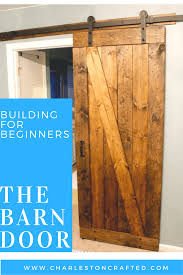 How To how to make a barn door images : How to Build a Rustic Barn Door • Charleston Crafted