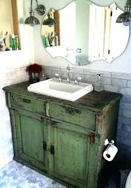 retro bathroom vanities antique vanity cabinet vintage dresser ideas van