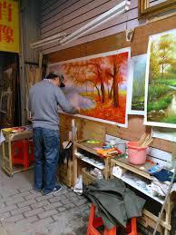 dafen oil painting village 003