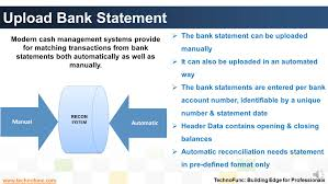Bank Reconciliation Chart Bank Reconciliation Process Map Example Sap Pdf Flow Tcode