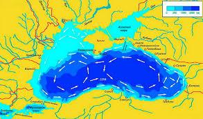 Характеристика Черного моря как экологического объекта Реферат Наибольшая длина моря 1148 км Наименьшая ширина 258 км Площадь моря по данным различных авторов колеблется в пределах 406680 423000 км2 длина береговой