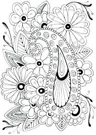 Printable Coloring Pages Of Flowers And Butterflies Flower Coloring Images Ofgodanddice Com