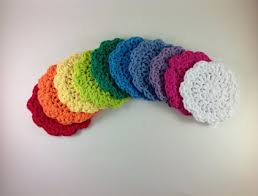 Free Crochet Patterns For Scrubbies Inspiration Free Crochet Flower Face Scrubbies Pattern Crochet Listia