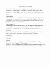 Sample Email Recruiter Fitted With Resume Lovely Internship Subject