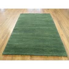 4x6 wool rug one of a kind thick and plush closeout hand knotted 4 x 6