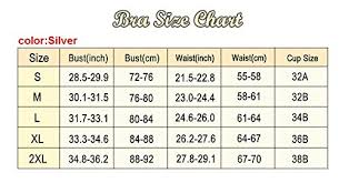 Bra Size Chart Cm Inch Sexy4lady Womens Fashion Sequins Beaded Straps Burlesque