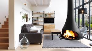 Breathtaking Suspended Wood Stove Pictures - Best idea home design .