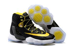 lebron shoes 13 white. nike lebron 13 elite black/yellow-white 2016 for sale lebron shoes white 7