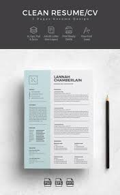 Cv Template Best Resume Templates Design For Job Seeker And Career
