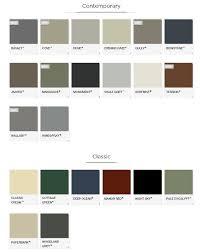 Stratco Colour Chart Roofing Paint Colours Colourbond Pallet Woodlands Grey