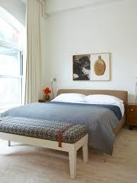 beige platform bed in inspiring modern bedroom ideas