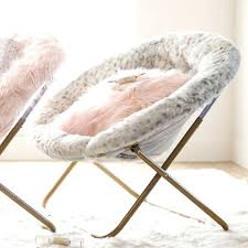 roll over image to zoom mongolian fur chair papasan by urban gray hang a round interior fur white chair creative mongolian uk