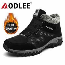 <b>AODLEE</b> Boots Men <b>Plus Size 48</b> Men Winter Warm Snow Boots ...