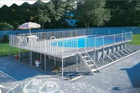 rectangle above ground pool sizes. Brilliant Above Rectangle Above Ground Pool With Deck 40 Uniquely Awesome Pools  Decks Sizes G