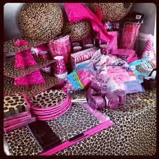Leopard Print Party Decorations Similiar Cheetah Print Birthday Decoration Ideas Keywords