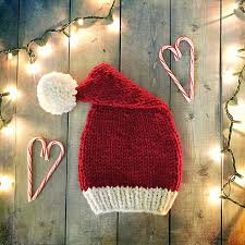 10 Christmas Baby Hat Knitting Patterns Blog Nobleknits