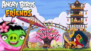 Angry Birds Friends - Gameplay Walkthrough - CHERRY BLOSSOM Events!   Angry  birds, Cherry blossom, Birds