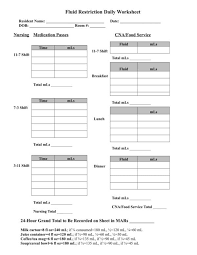 Free 11 Daily Worksheet Templates In Pdf Word