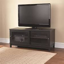 Basketball Display Stand Walmart Classy Mainstays 32 TV Stand With Sliding Glass Doors Multiple Colors