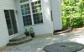 flagstone what to use sand cement
