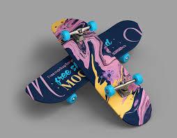Use the psd file's smart object to add you ow. 15 Beautiful Skateboard Mockup Psd Templates Mockuptree