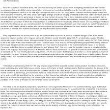 abortion argumentative essay anti abortion argument paper at anti abortion argument paper at com