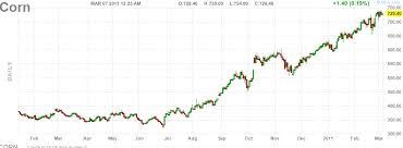 Corn Chart Corn Futures