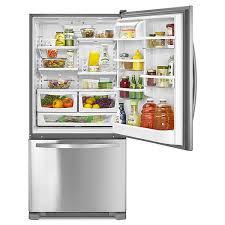 kenmore bottom freezer refrigerator. 046079343000 kenmore 79343 22 cu. ft. bottom-freezer single door re bottom freezer refrigerator
