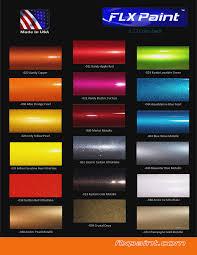 Metallic Car Paint Colour Chart Bedowntowndaytona Com
