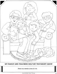 Small Picture Best Photos of My Family In House Coloring Page LDS Family in