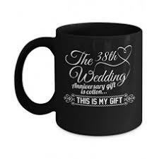 best anniversary gifts 38th wedding anniversary mug funny mug for couples b074n2wpq6