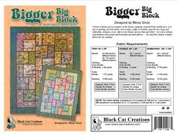 Big Block Quilt Patterns Classy Bigger Big Block Quilt Pattern